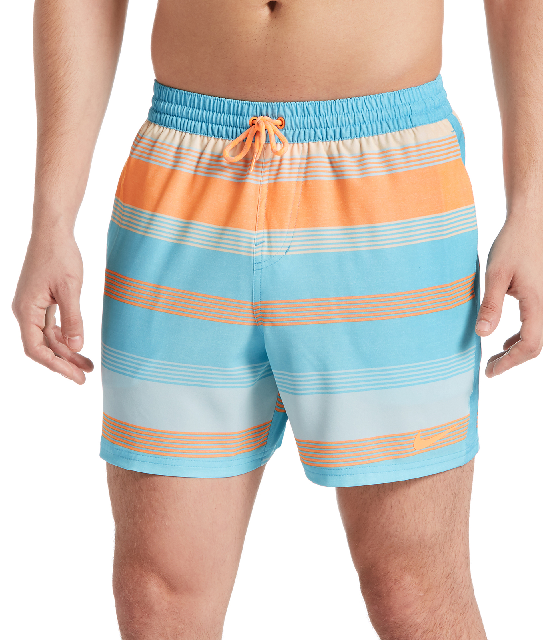 Nike Swim Mens Volley 5 Short - Blue
