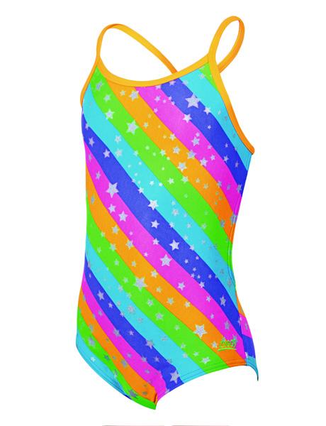 Zoggs Girls Fairy Bella Crossback Swimsuit