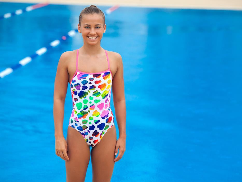 Funkita Ladies Lolly Moo Cross Strap One Piece