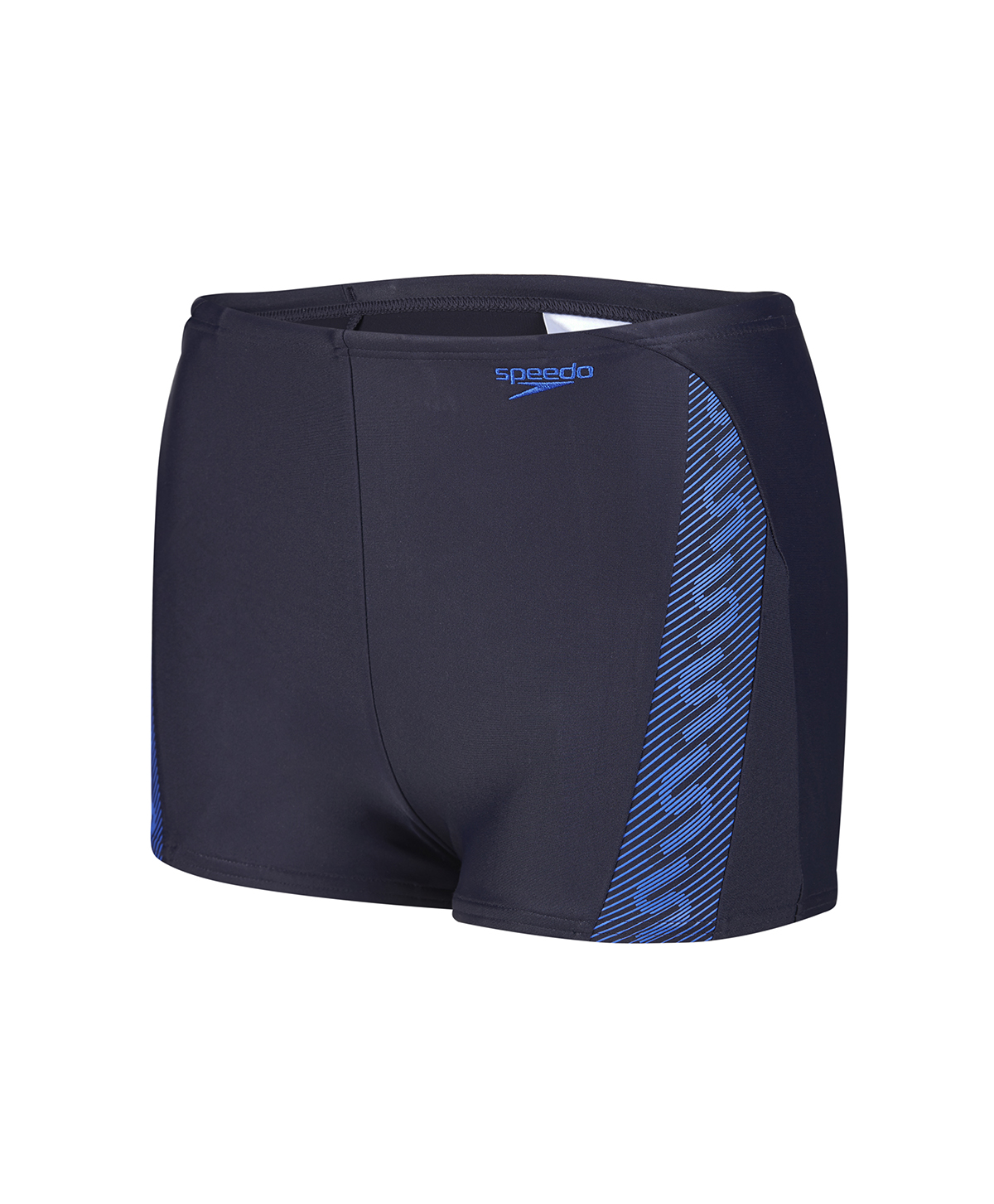 Speedo Boys Monogram Aquashort - Grey/Blue