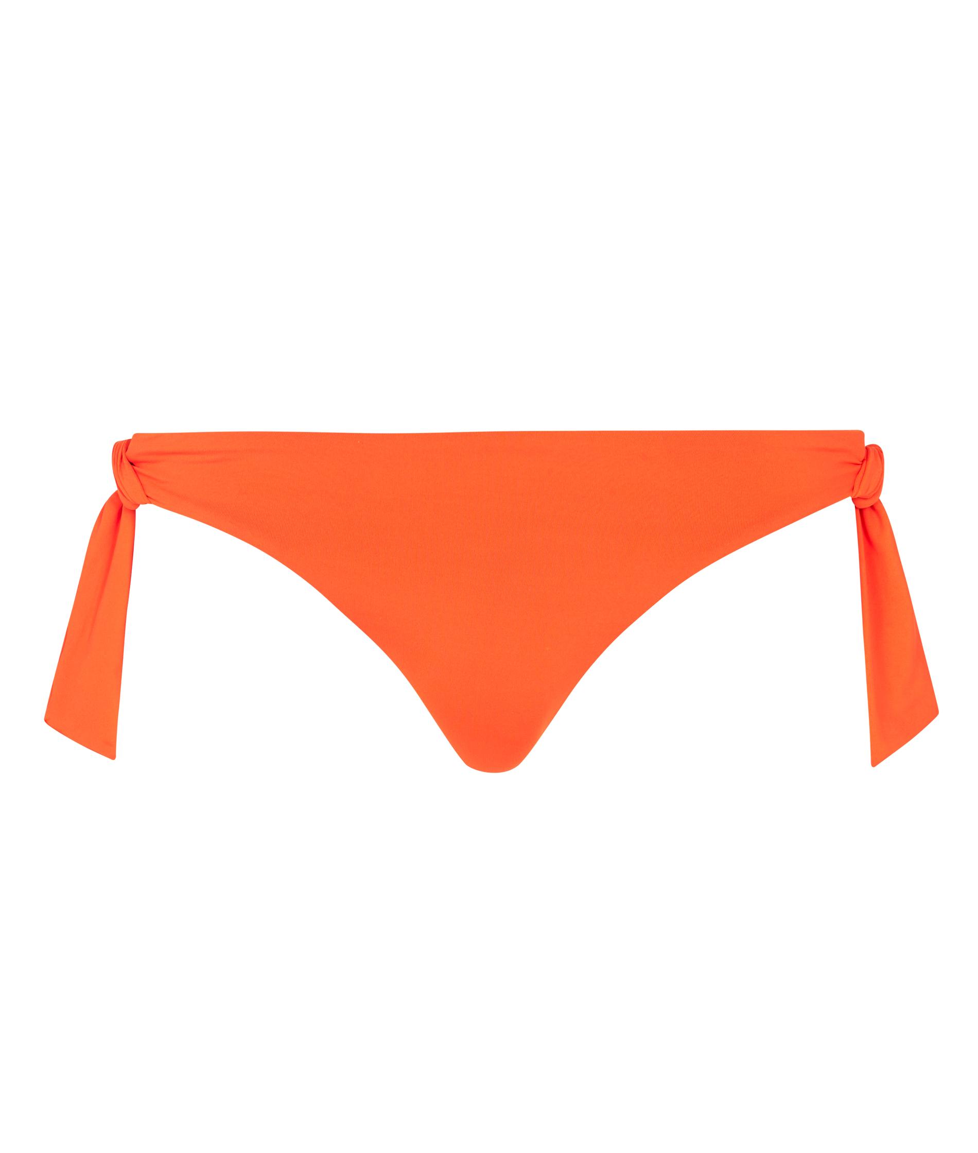 Seafolly Ladies Active Ring Side Hipster Bikini Pant - Tangelo
