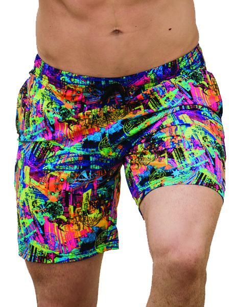 Funky Trunks Mens Top Bloke Long Johnny Shorts