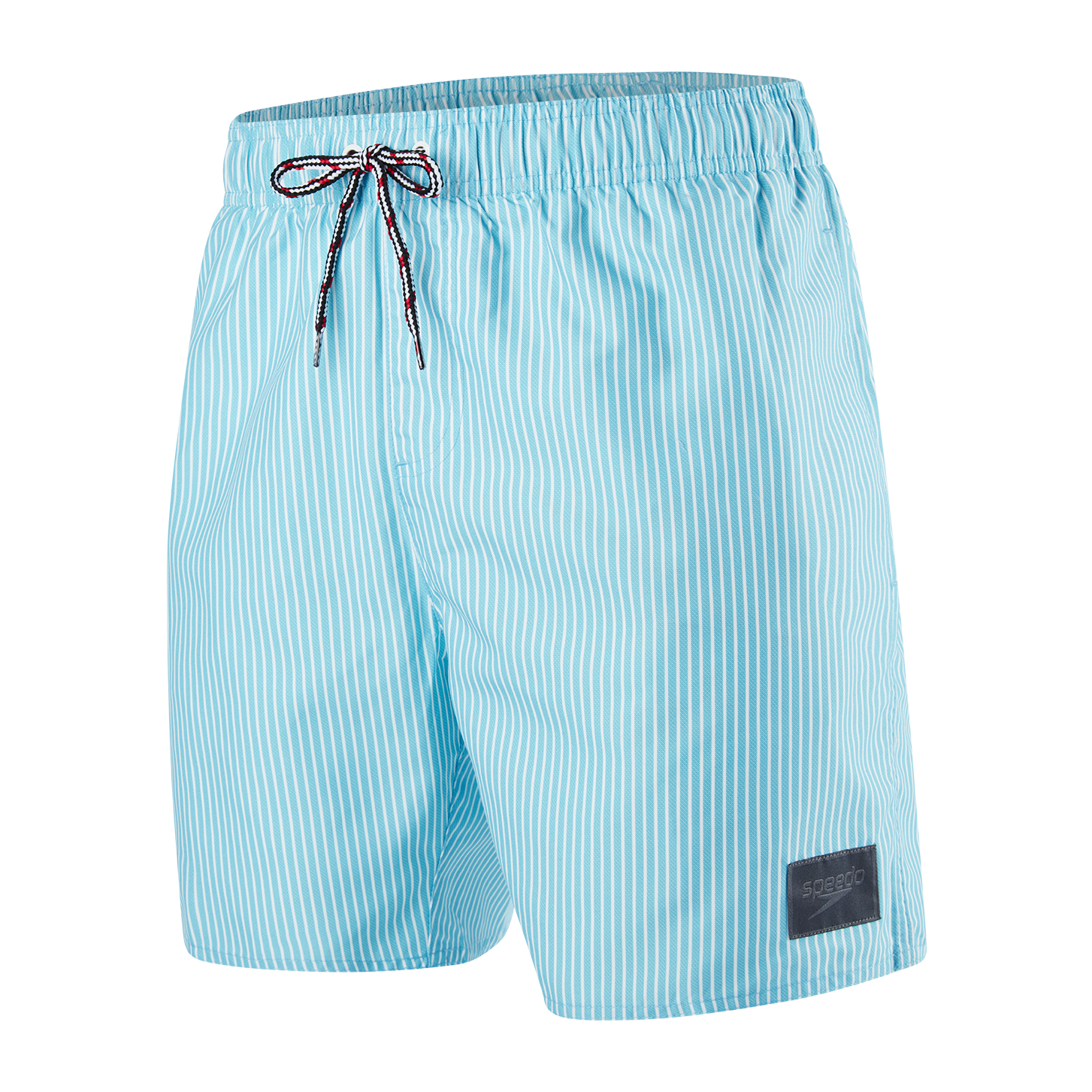 Speedo Mens Sun Stripe Printed Leisure 16 Watershort - Turquoise/White