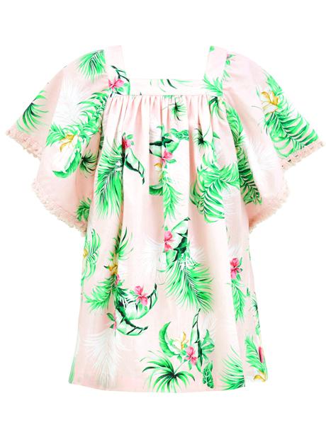 Seafolly Kids Angel Dress - Hawaiian Rose