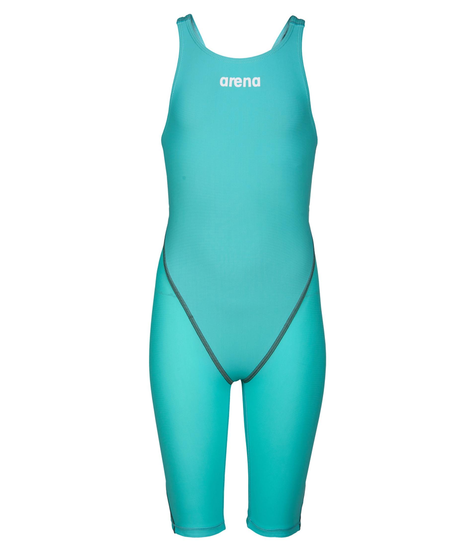 Arena Junior Girls Powerskin ST 2.0 Knee Skin - Aquamarine