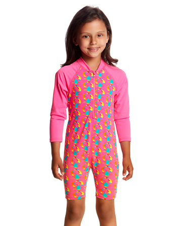 Funky Trunks Toddler Girls Cray Cray Go Jump Suit