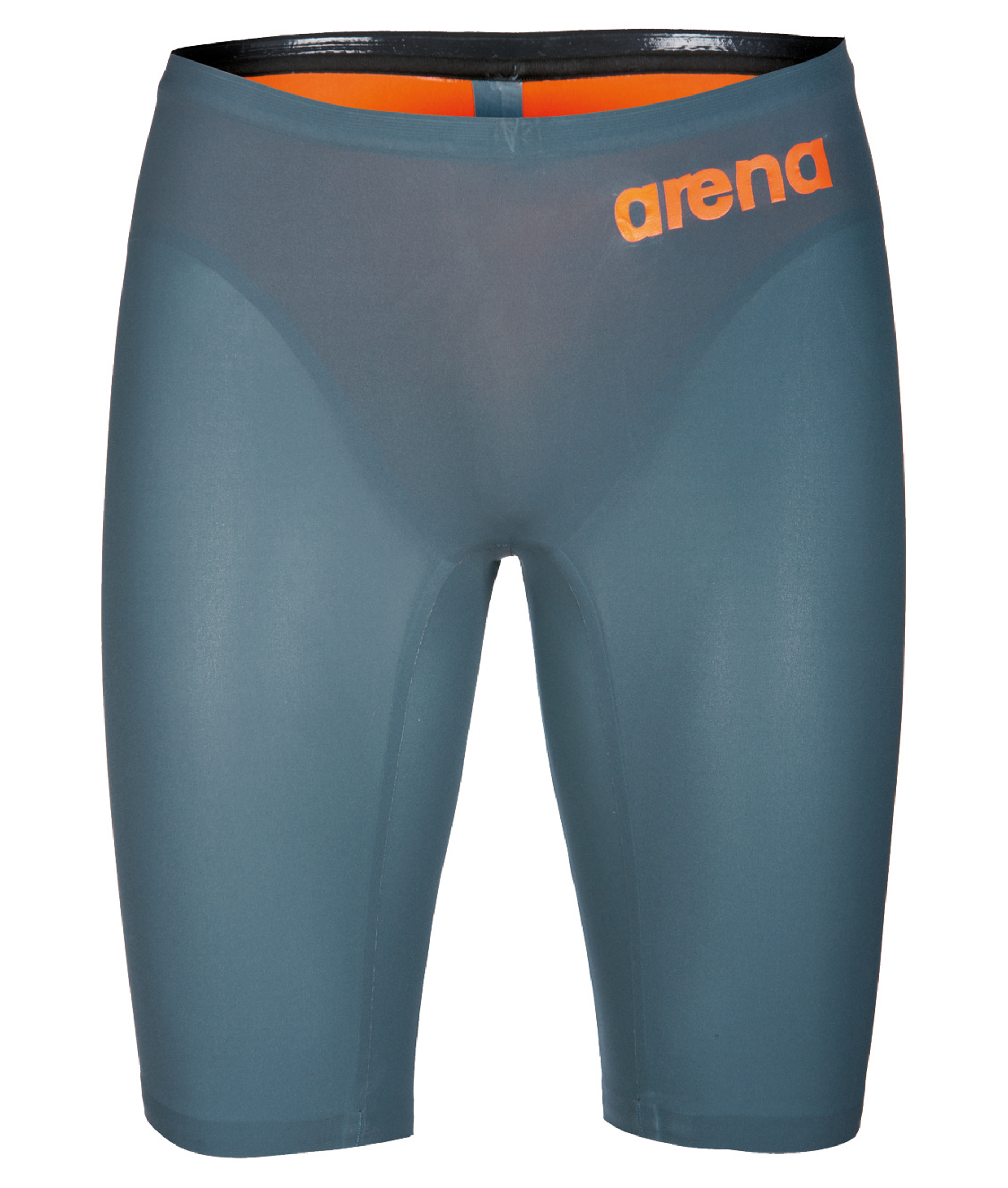 Arena Boys Powerskin R-EVO ONE Race Jammer - Grey/Orange