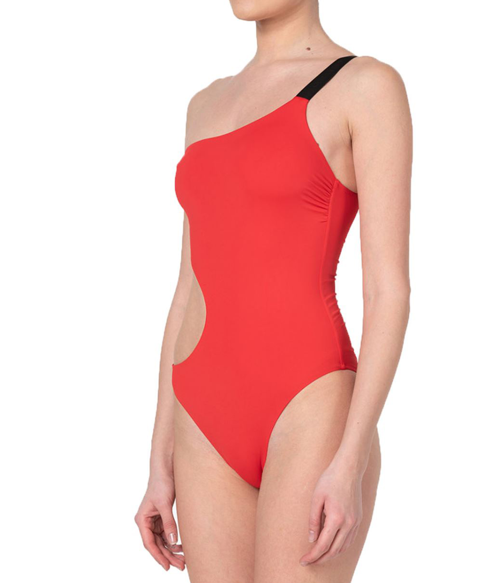 Karl Lagerfeld Womens Basic Red One Piece
