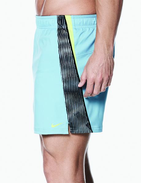 Nike Mens Vibe Splice 4 Watershort- Mica Blue