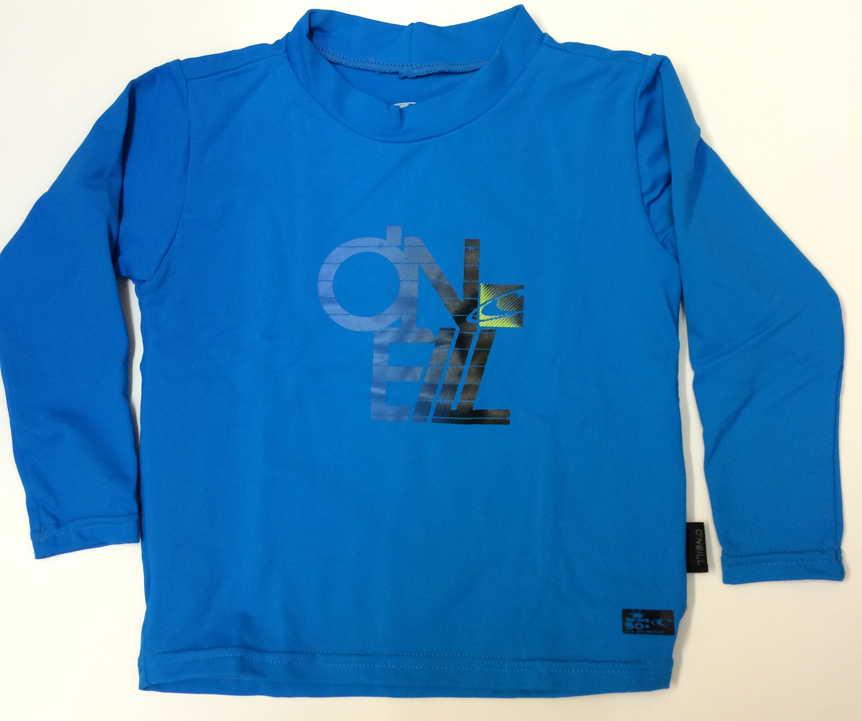 O'Neill Boys Long Sleeve Sun Top - Blue