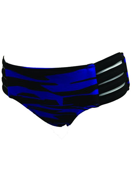 Seafolly Fastlane Multi Strap Hipster - Blue Ray (SALE Non Refundable)