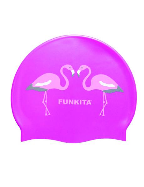 Funkita Flamingo Go Go Swim Cap