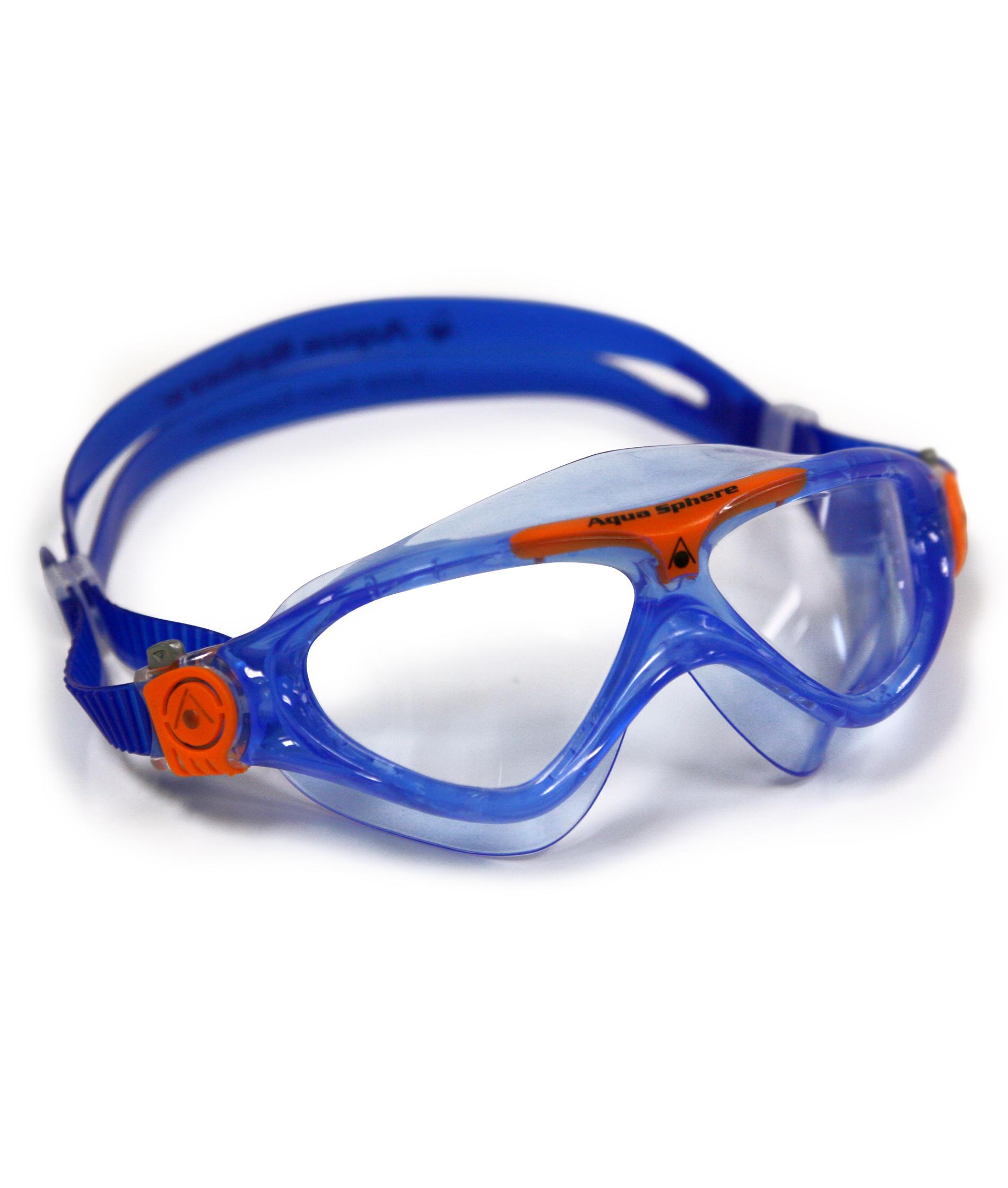 Aqua Sphere Vista Junior Mask - Blue/Orange