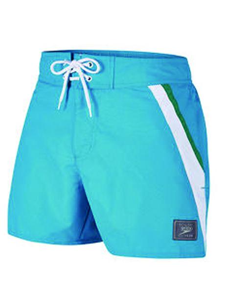 Speedo Mens Retro 14 Leisure Watershort - Blue/White