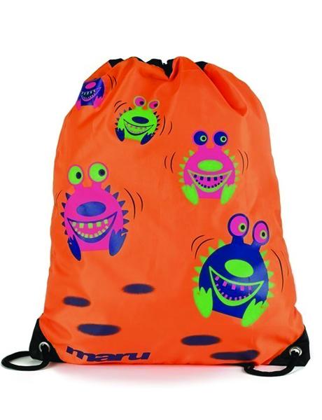 Maru Spikey Sea Monster Bag - Orange