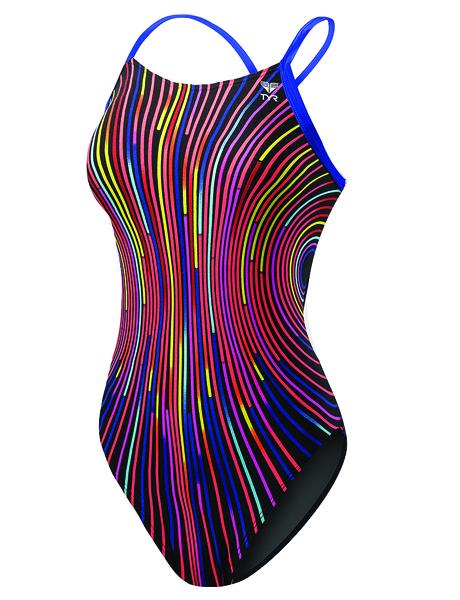 TYR Girls Supersonic Diamondfit Swimsuit