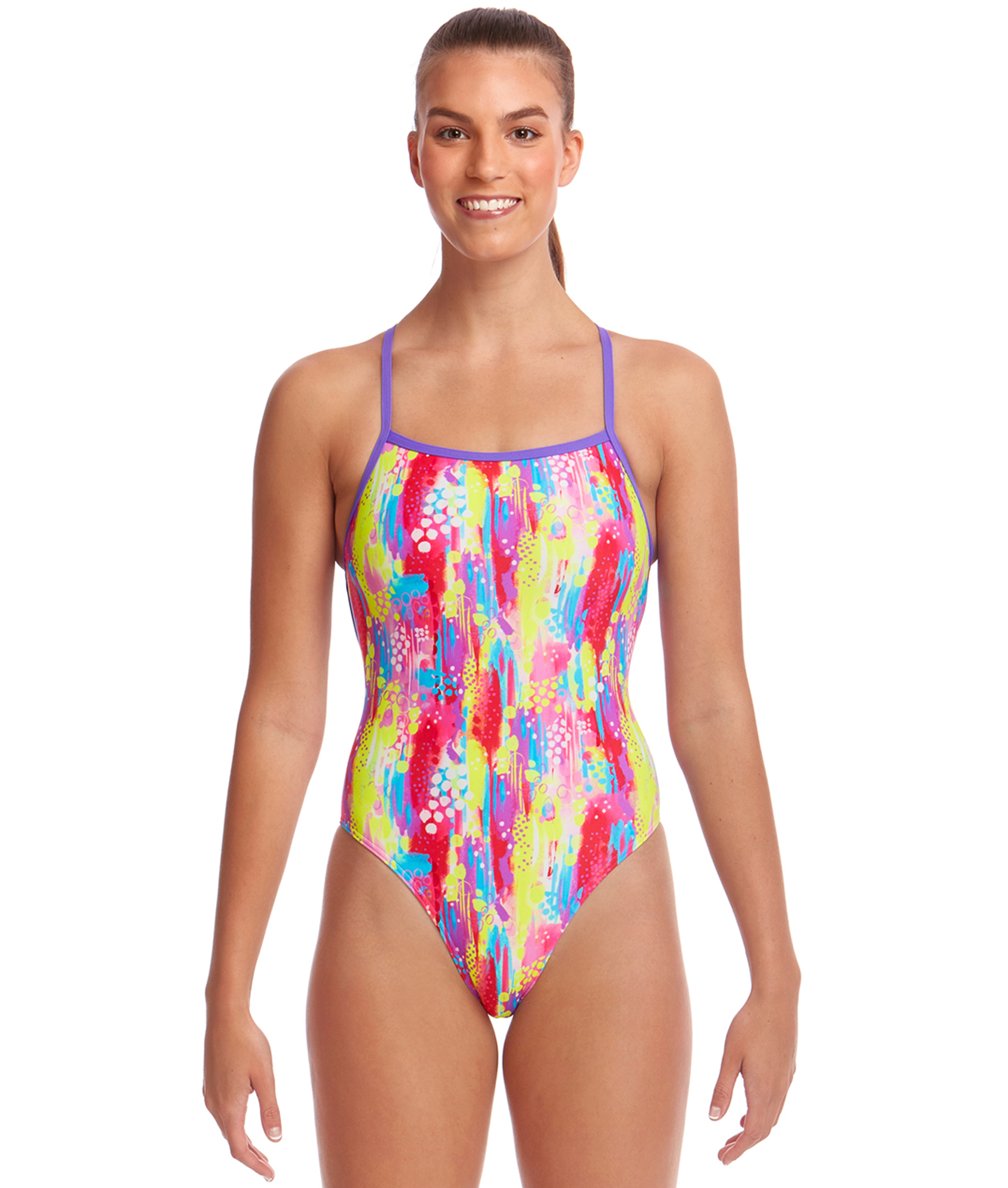 Funkita Ladies Split Splat Strapped In One Piece