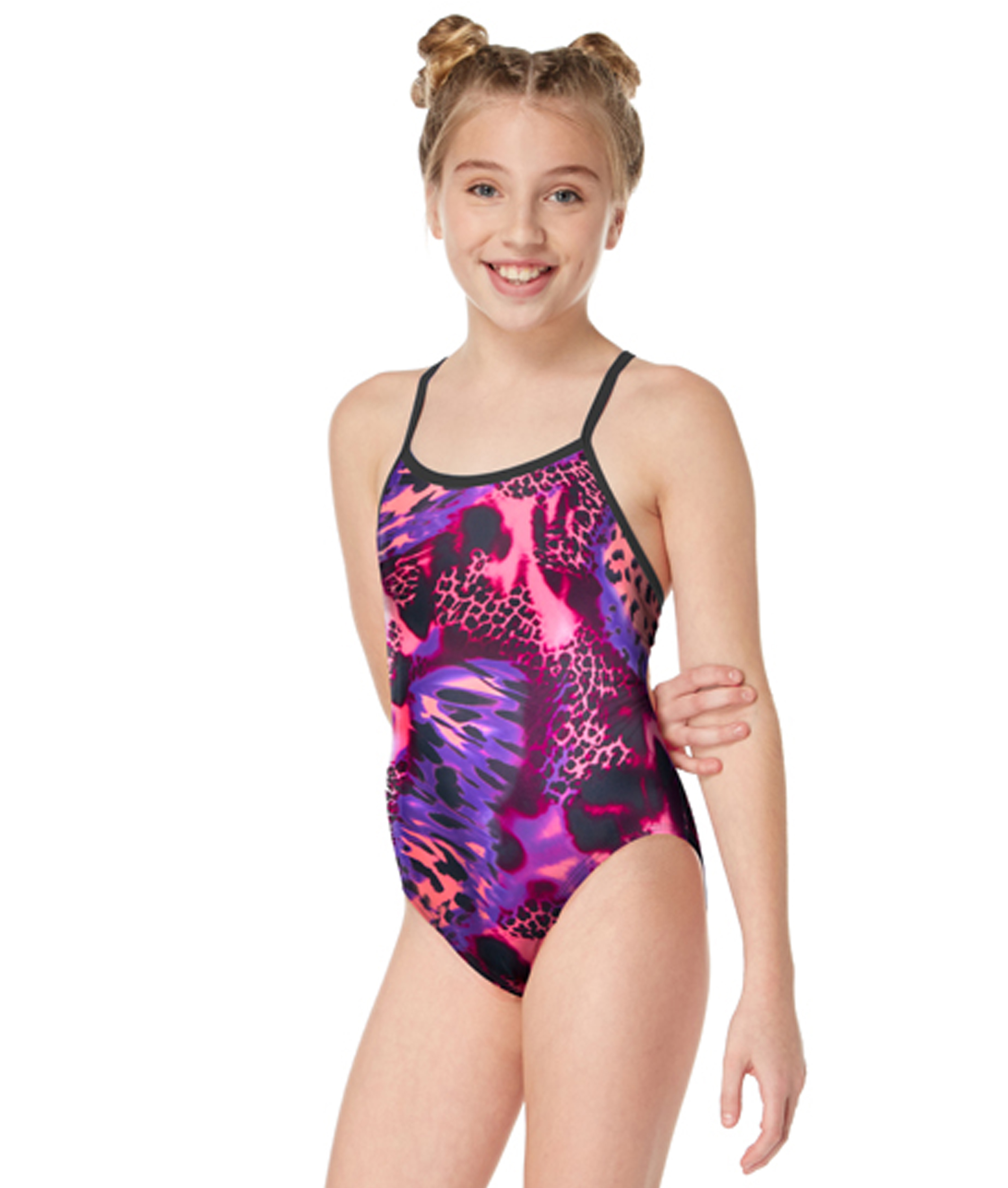 Maru Girls Nala Pacer Fly Back Swimsuit