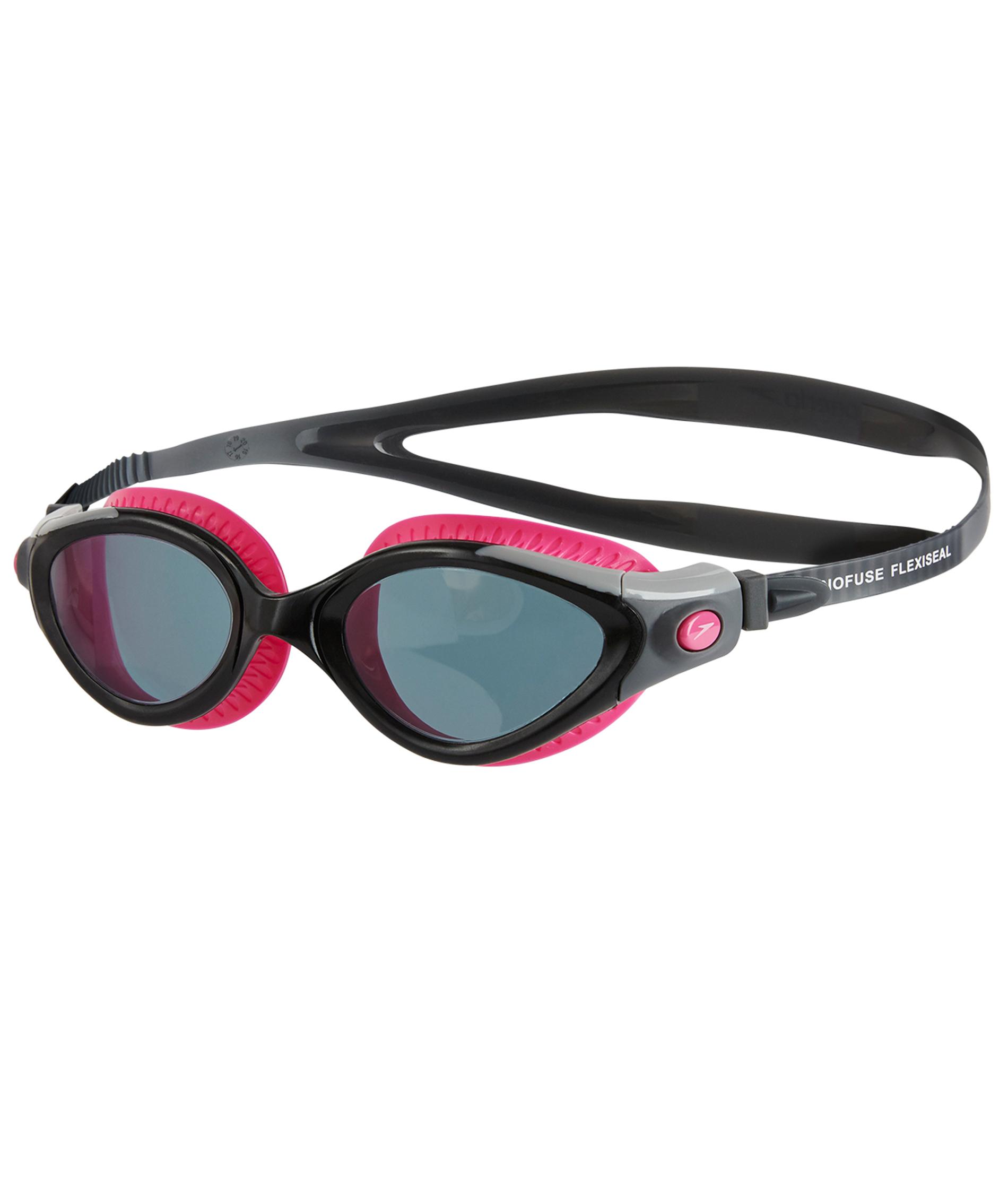 Speedo Futura Biofuse Flexiseal Female Goggle - Pink/Smoke