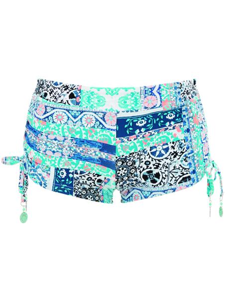 Seafolly Silk Market Tie Side Short - Bahama (sale non-refundable)