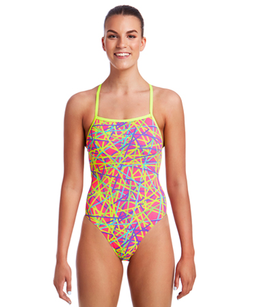 Funkita Ladies Bound Up Strapped In One Piece