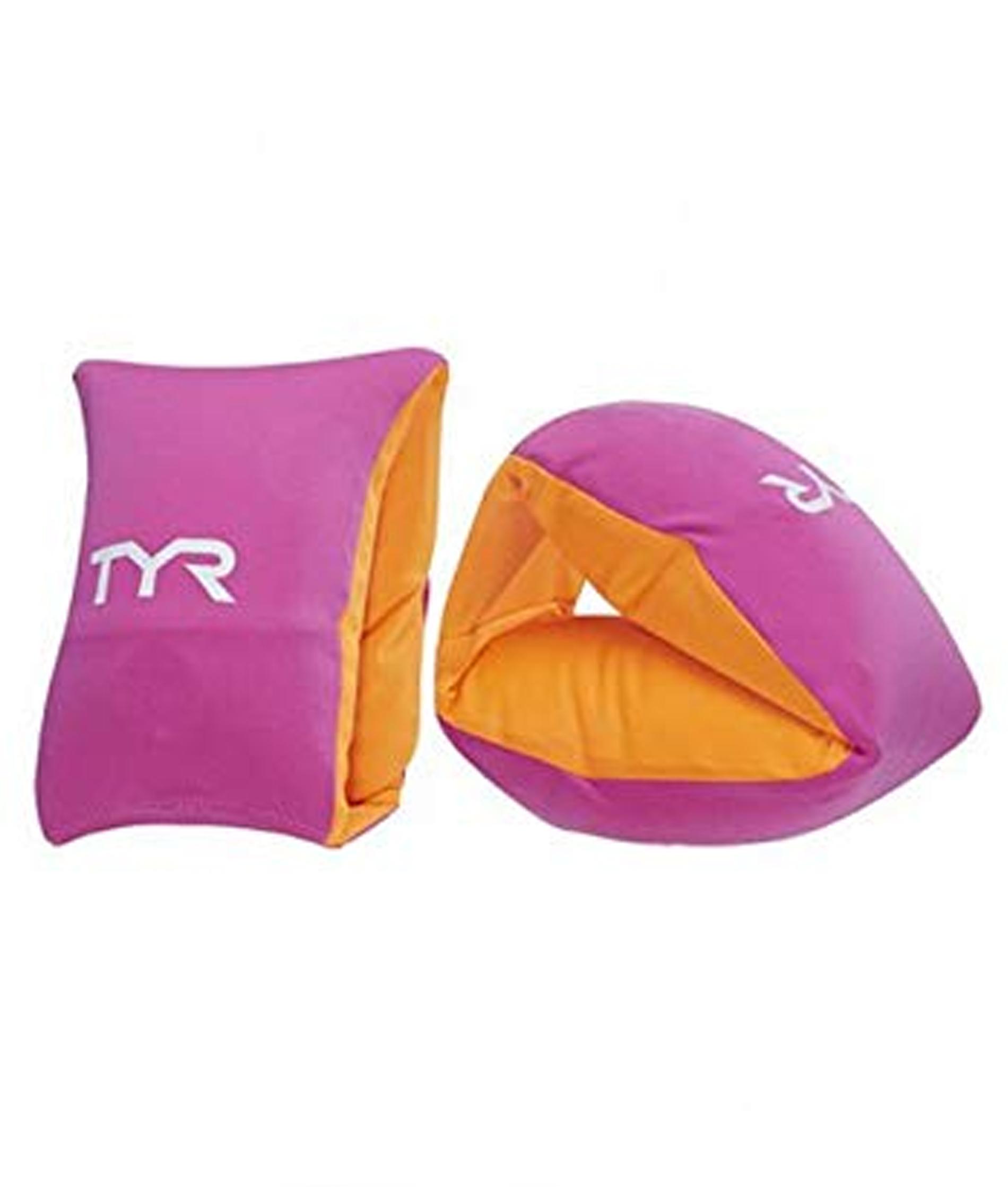 TYR Kids' Start to Swim Arm Floats - Pink/Orange