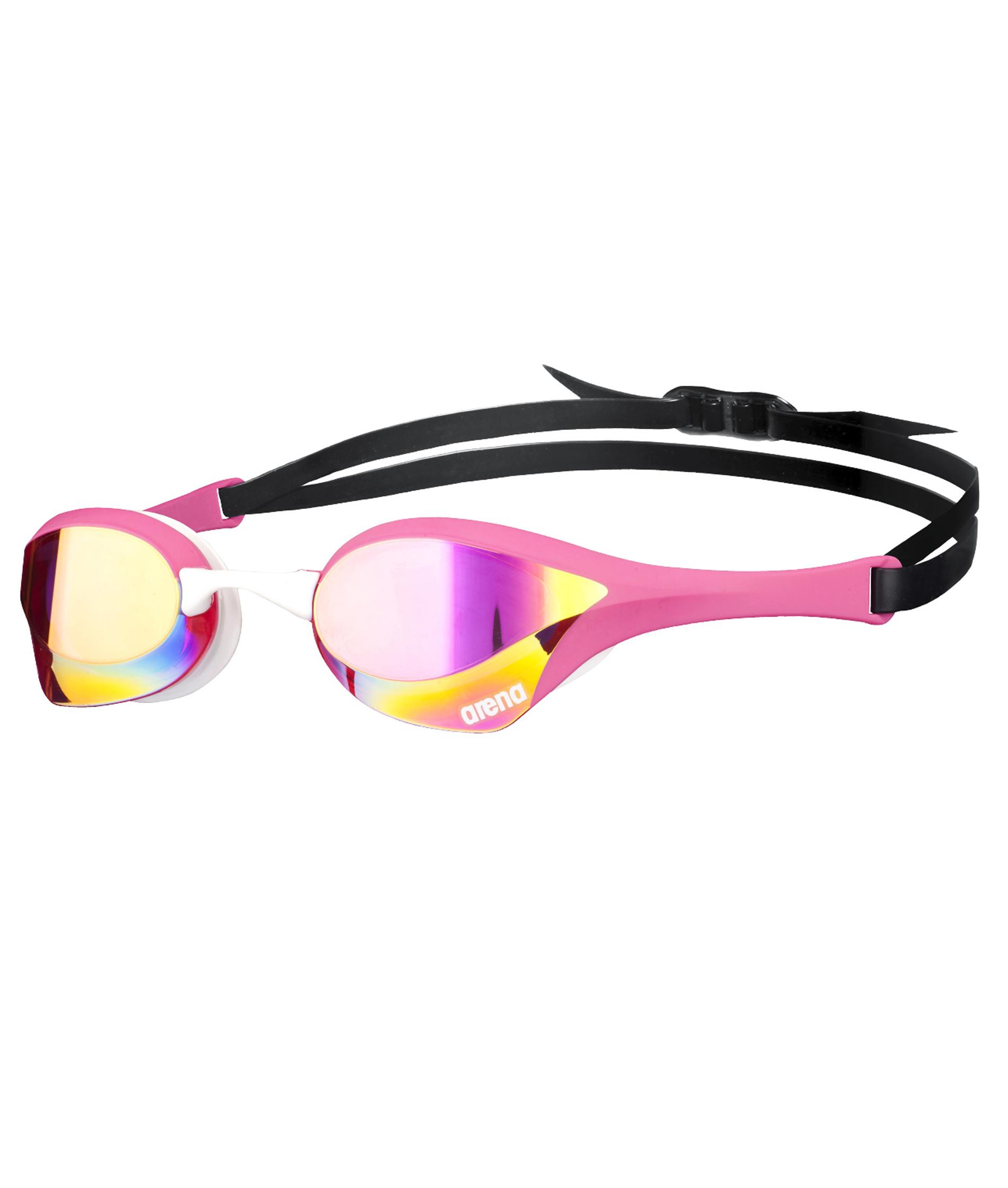 Arena Cobra Ultra Mirror Goggle - Pink/White