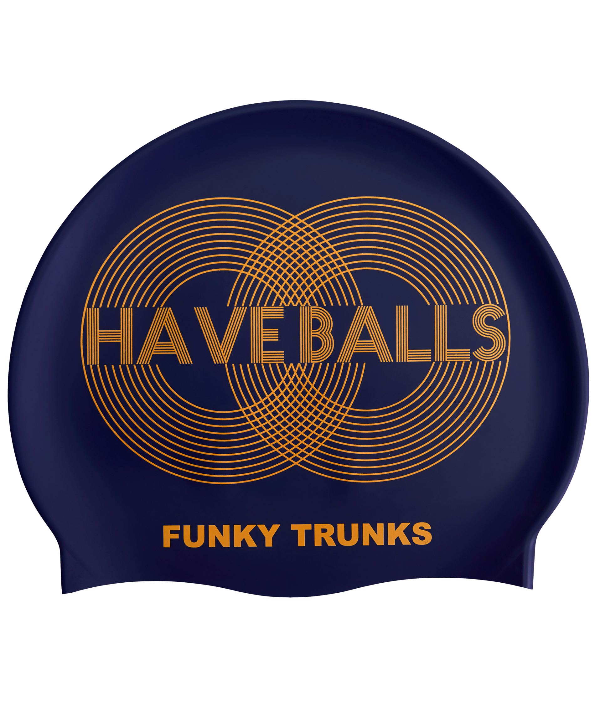 Funky Trunks Golden Balls Swim Cap