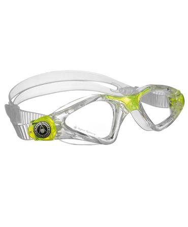 Aqua Sphere Kayenne Goggles - Clear Lime