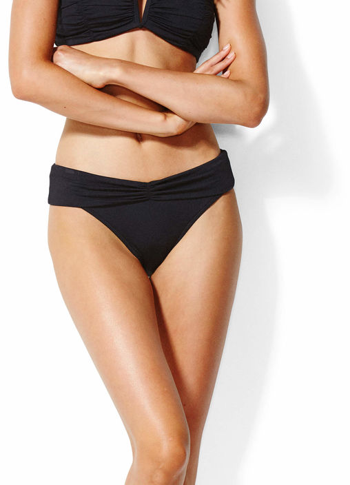 Seafolly V Band Retro Bikini Pant - Black