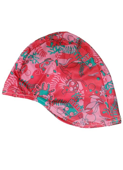 Speedo Sea Squad Junior Polyester Cap - Pink