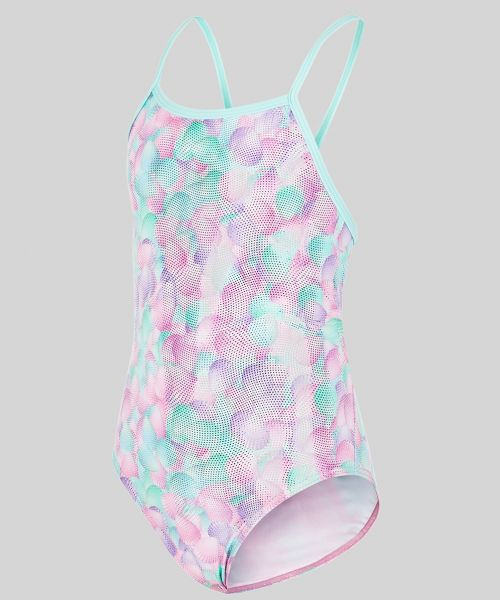 Maru Girls Seyshelles Ecotech Sparkle Fly Back Swimsuit