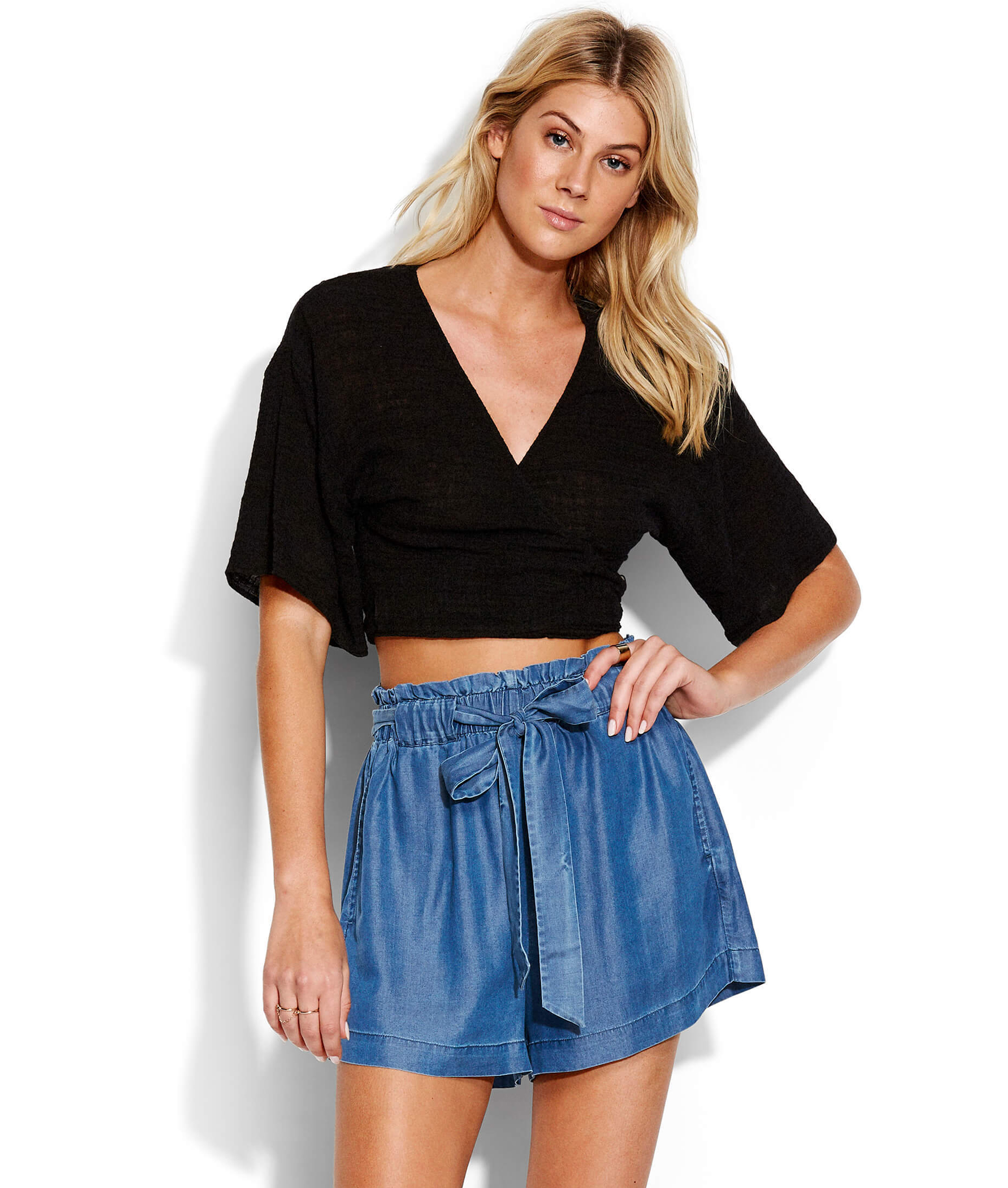 Seafolly Ladies Inka Gypsy Chambray Short