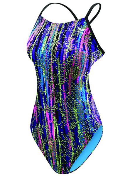 TYR Girls Hiromi Cutoutfit Swimsuit