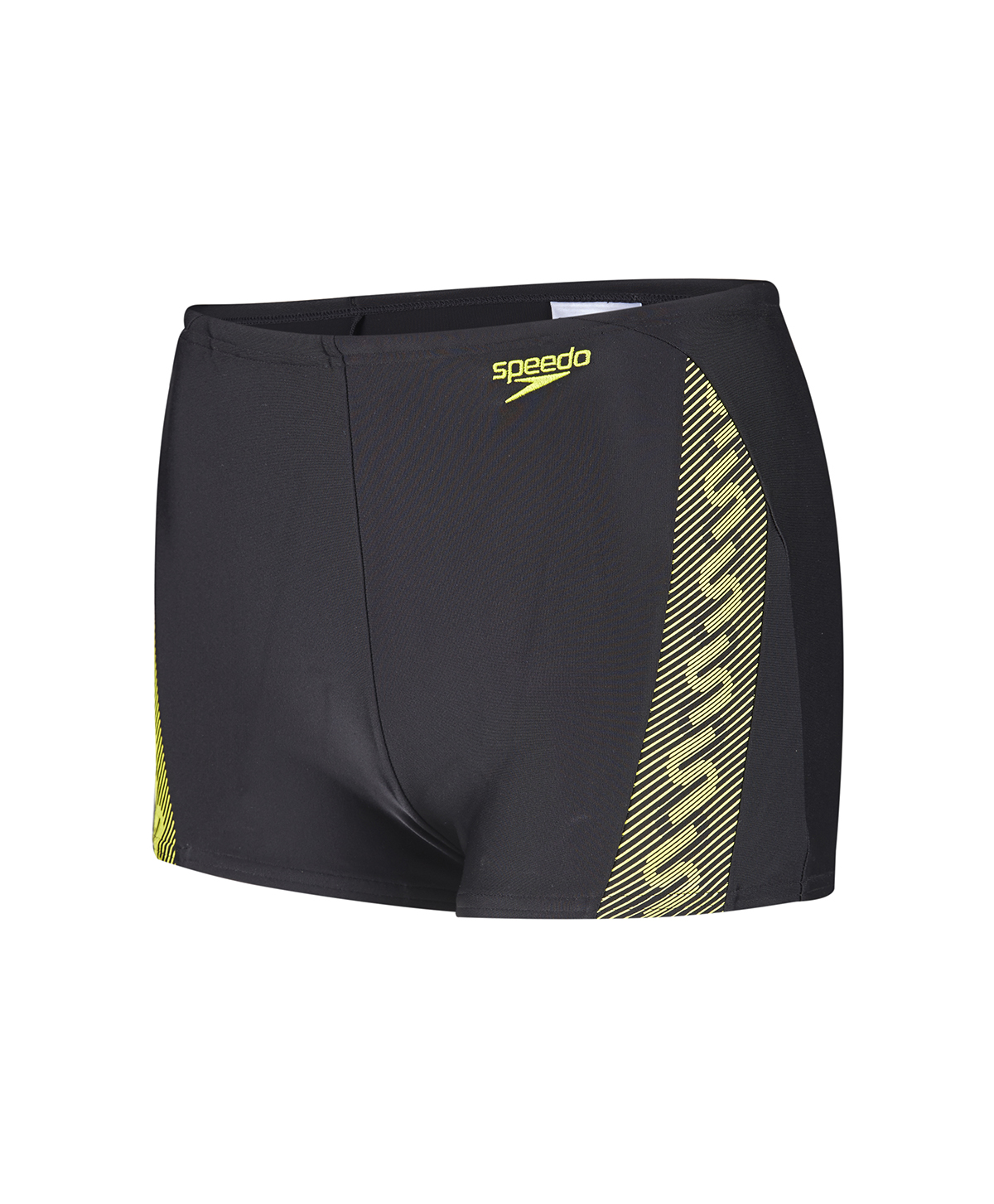 Speedo Boys Allover Aquashort - Black/Gold