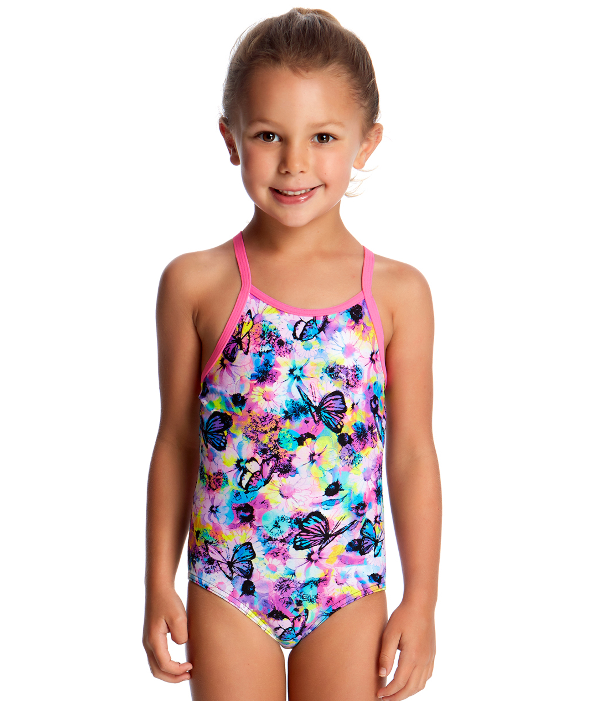 Funkita Toddler Girls Water Garden One Piece