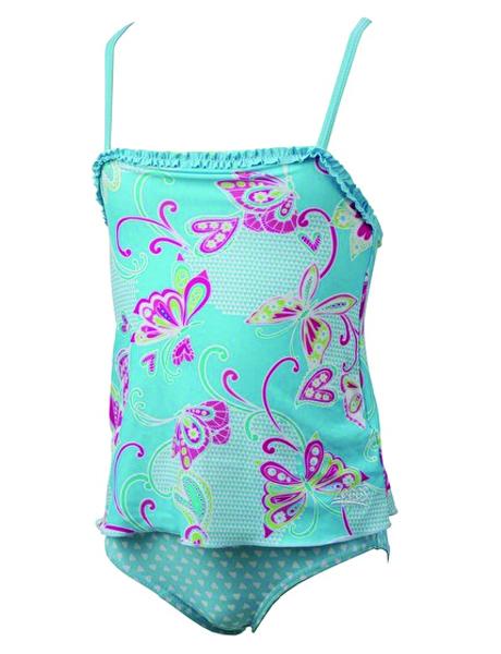 Zoggs Girls Paradise Beach Swim Dress 1-6