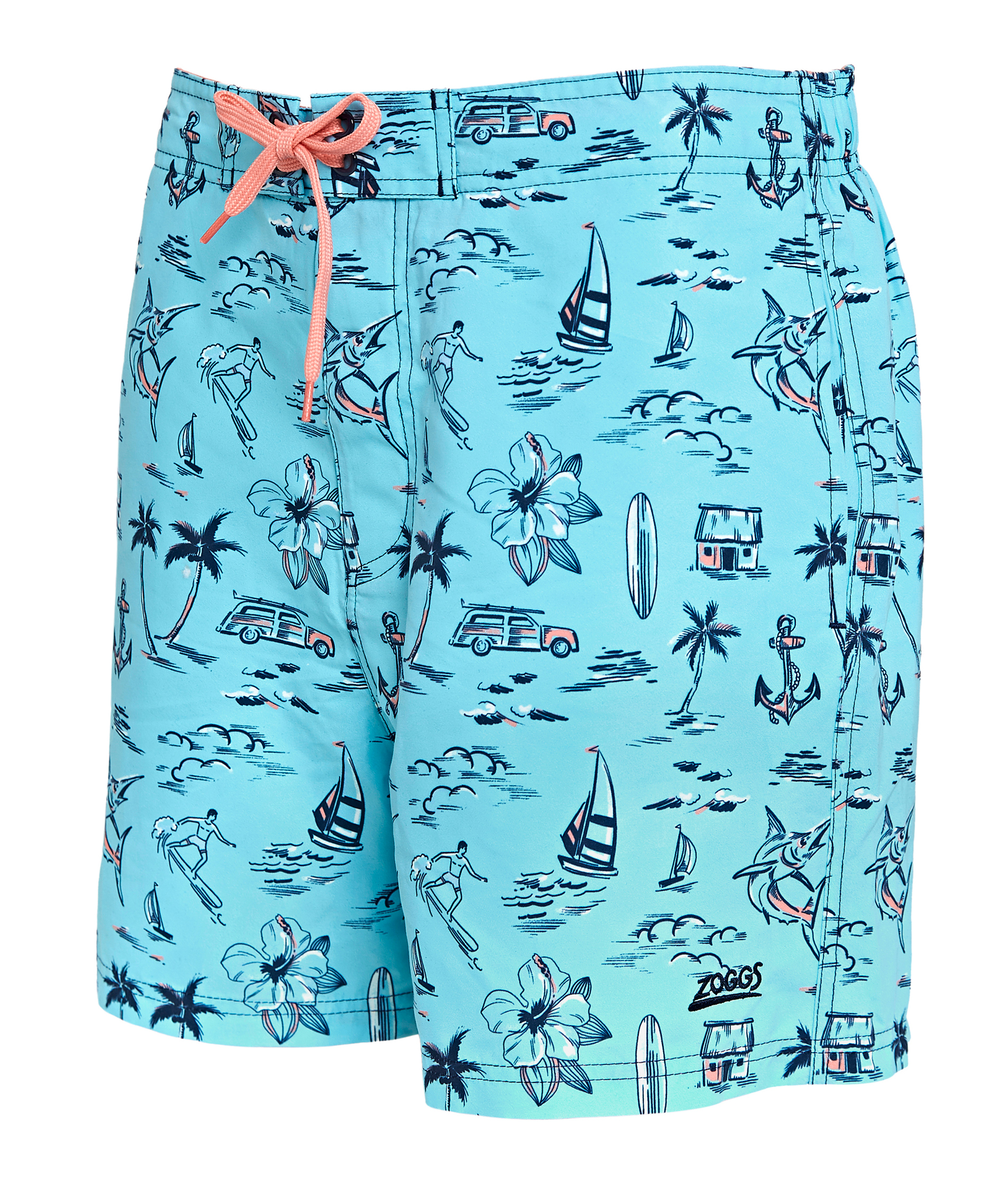 Zoggs Boys Aloha Swim Shorts