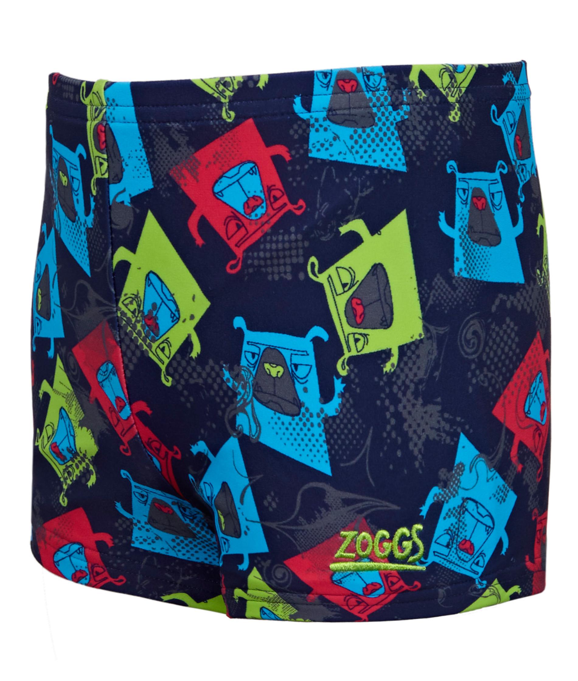 Zoggs Boys Boxer Dog Hip Racer