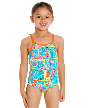 Funkita Toddler Girls Russian Love Printed One Piece