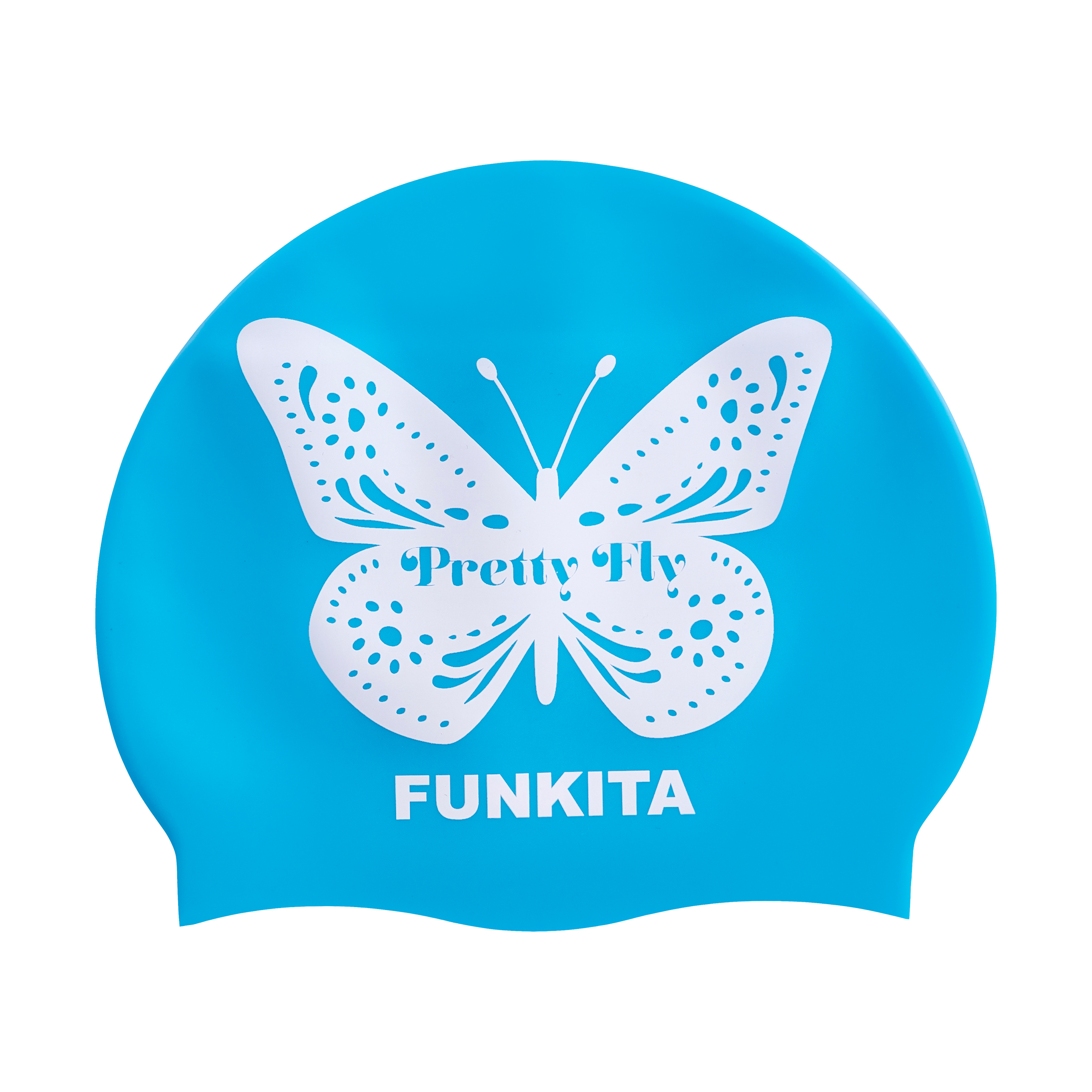 Funkita Pretty Fly Swim Cap - Blue