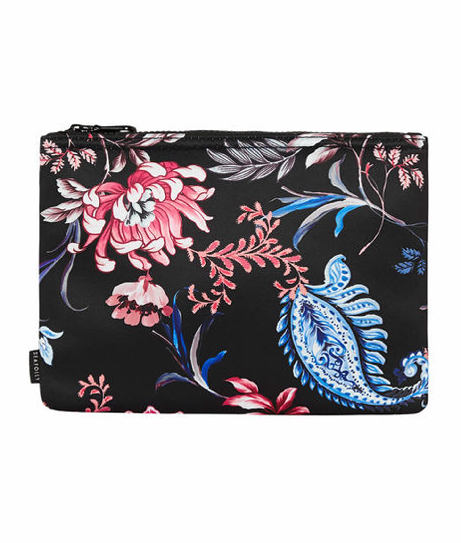 Seafolly Water Garden Bikini Bag - Black