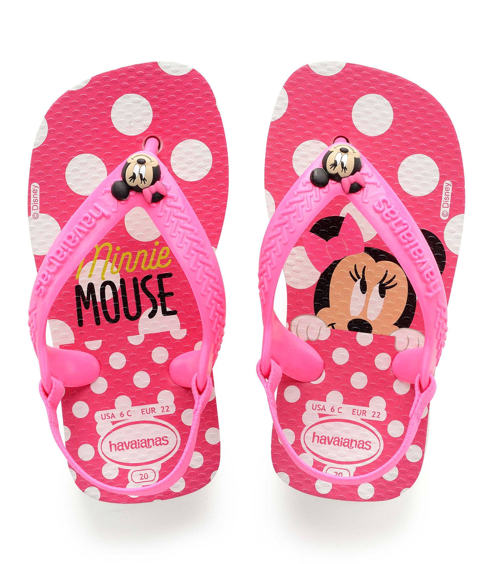 Havaianas Disney Baby Classics - Minnie Mouse