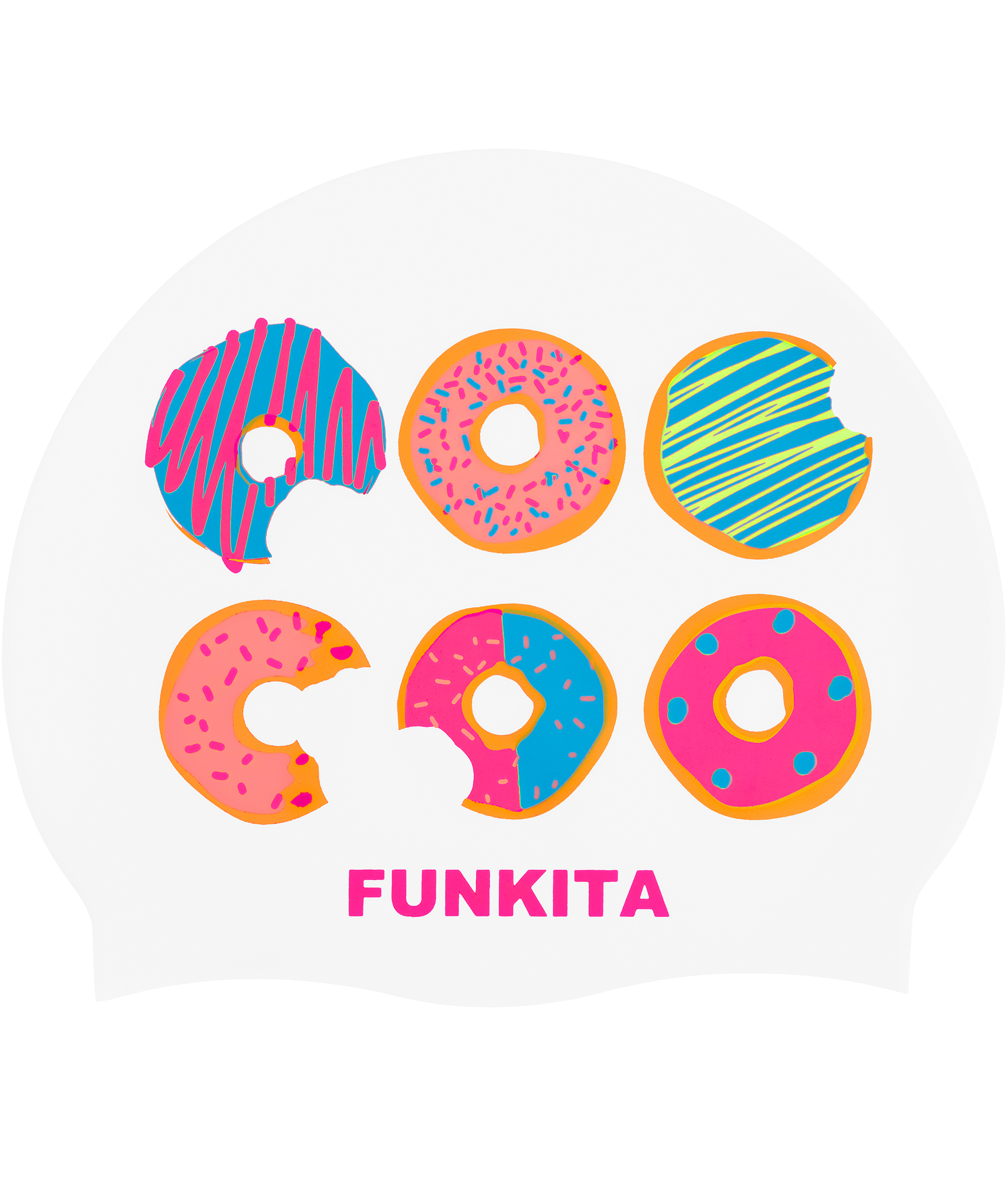 Funkita Dunking Donuts Swim Cap
