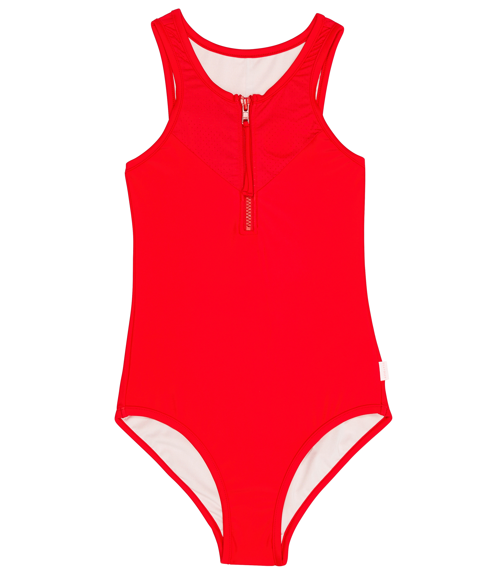 Seafolly Kids Summer Essentials High Neck Tank One Piece - Opal and Ruby