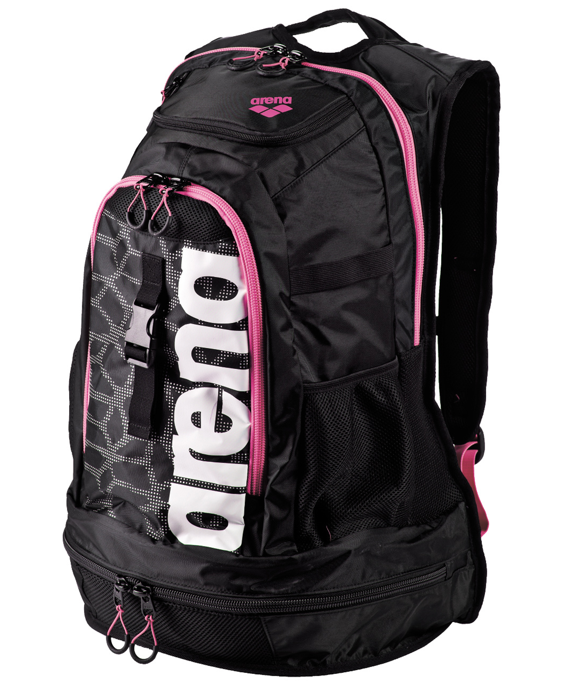 Arena Fastpack 2.1 Black X-Pivot/Fuchsia Backpack