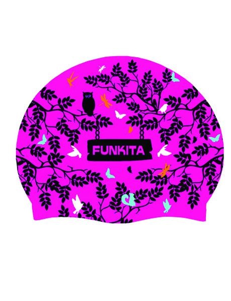 Funkita Forest Sunset Swim Cap