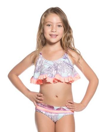 Maaji Girls Blue Bolero Bikini