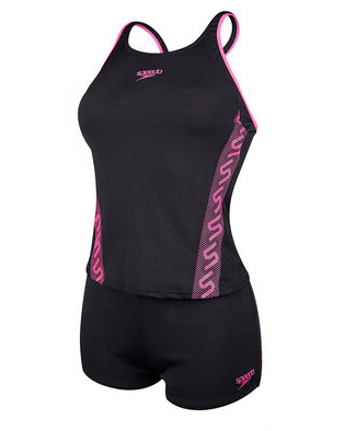 Speedo Ladies Monogram Boy leg Tankini