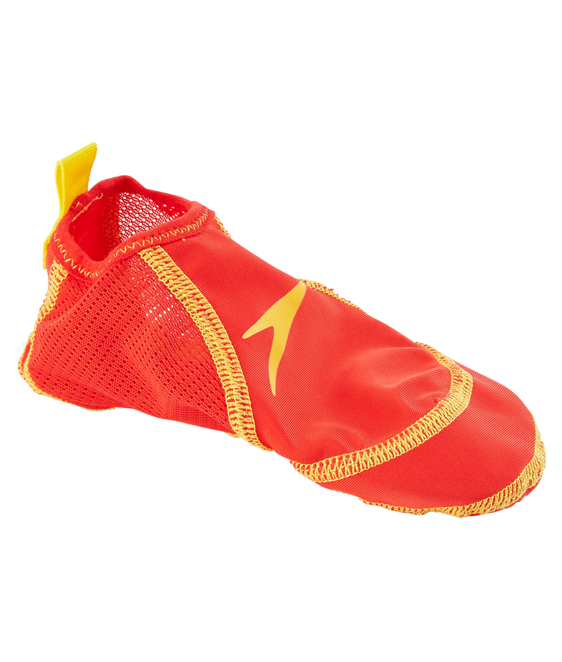 Speedo Junior Pool Sock - Red/Yellow